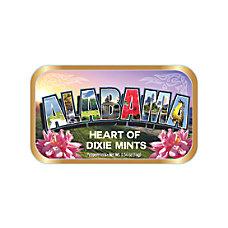 AmuseMints Destination Mint Candy Alabama Letters