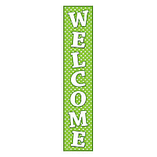 Teacher Created Resources Welcome Banner Lime