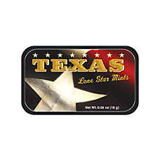 AmuseMints Destination Mint Candy Texas Flag