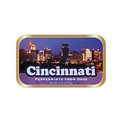 AmuseMints Destination Mint Candy Cincinnati Skyline