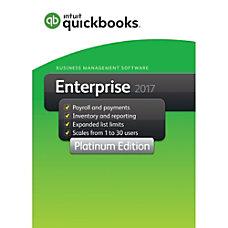 QuickBooks Desktop Enterprise Platinum 2017 3