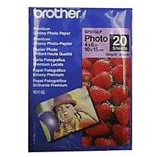 Brother Premium Photo Paper Glossy 20