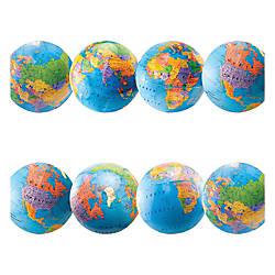 Hygloss Globe Design Border Strips 12