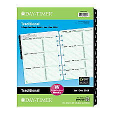 Day Timer Weekly Folio Size Planner