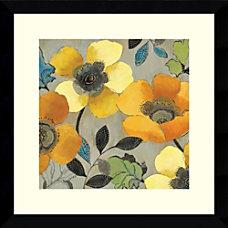 Amanti Art Yellow and Orange Poppies