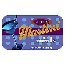 AmuseMints Sugar Free Mints Martini Mints