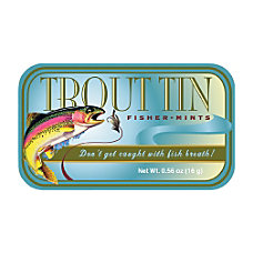 AmuseMints Sugar Free Mints Trout 056