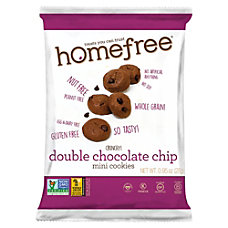 HomeFree Treats Double Chocolate Chip Mini