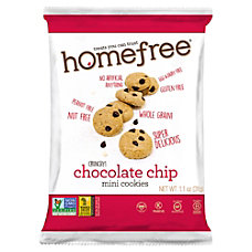 HomeFree Treats Gluten Free Chocolate Chip