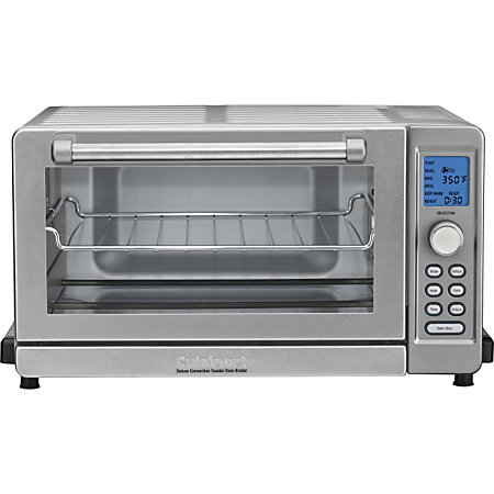 Countertop Convection Oven Cuisinart Toaster Oven : Cuisinart TOB 135 Deluxe Convection Toaster Oven Broiler by Office ...
