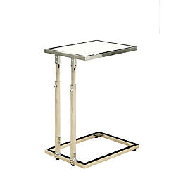 Monarch Specialties Adjustable Accent Table Rectangle