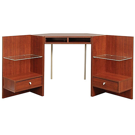 Osullivan Axent Collection Corner Hutch By Office Depot