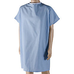 DMI Patient Hospital Gown Large Blue