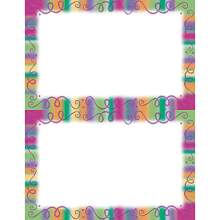 Gartner studios 2 up invitations 5 12 x 8 12 fiesta border for Www gartnerstudios com templates
