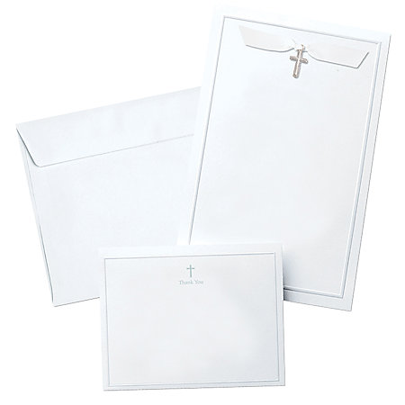 Gartner studios invitation kit cross charm 5 1 2 x 8 1 for Gartner labels templates