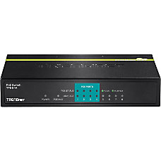 TRENDnet TPE S44 Fast Ethernet Switch