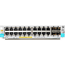 HP 20 port 101001000BASE T PoE