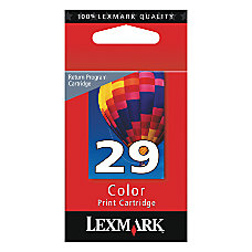 Lexmark 29 18C1429 Color Ink Cartridge