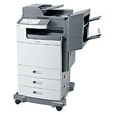 Lexmark X792DTSE Laser Multifunction Printer Color