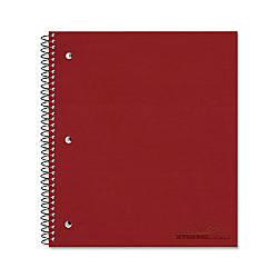 Rediform Pressguard 1 Subject Cover Notebook
