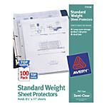 Avery Top Loading Nonstick Sheet Protectors