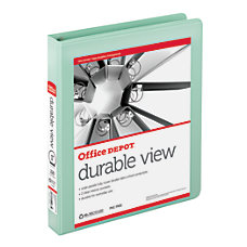 Office Depot Durable View Round Ring