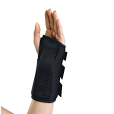 CURAD Slip On Wrist Splint Left