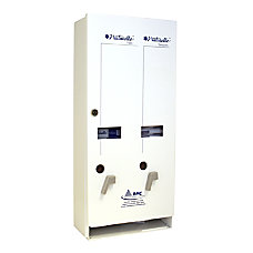 Rochester Midland Dual Sanitary Napkin Dispenser
