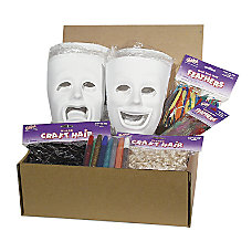 Chenille Kraft Plastic Masks Class Kit