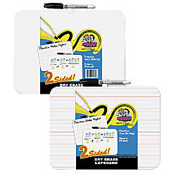 The Board Dudes Double Sided Dry Erase Lap Board 9 X 12 By