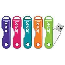 Lexar JumpDrive TwistTurn USB 20 Flash