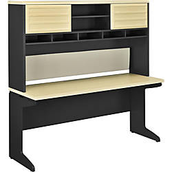Ameriwood Altra Pursuit Credenza With Hutch