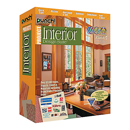 Punch interior design suite traditional disc by office for Punch interior design