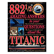 Scholastic 882 12 Amazing Answers To