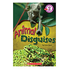 Scholastic Readers Level 2 Animal Disguises