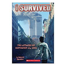 Scholastic I Survived The Attacks Of