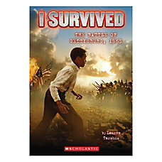 Scholastic I Survived The Battle Of
