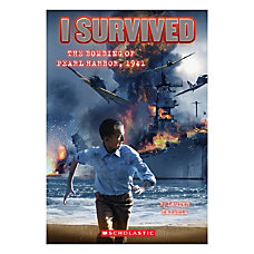 Scholastic I Survived The Bombing Of