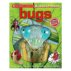 Scholastic Discover More Confident Reader Bugs