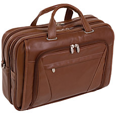 McKleinUSA Irving Park Briefcase Brown