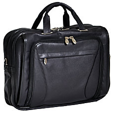 McKleinUSA Irving Park Briefcase Black