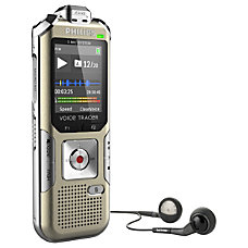 Philips Voice Tracer Digital Recorder Music