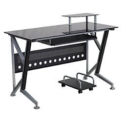Flash Furniture Contemporary Glass Computer Desk