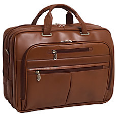 McKleinUSA Rockford Briefcase Brown