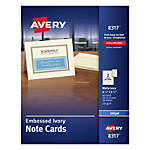 Avery Inkjet Note Cards 4 14
