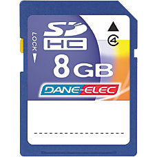 Dane Elec 8GB Secure Digital High