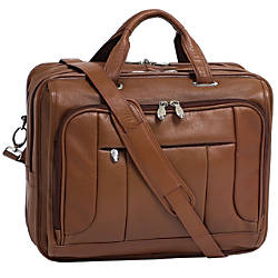 McKlein River West Leather Laptop Case