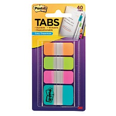 Post it Tabs Assorted Sizes Assorted