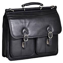 McKleinUSA HAZEL CREST Leather Double Compartment