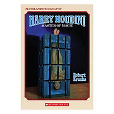 Scholastic Harry Houdini Master Of Magic